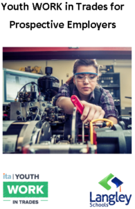 View our Youth WORK in Trades Brochure for Prospective Employers
